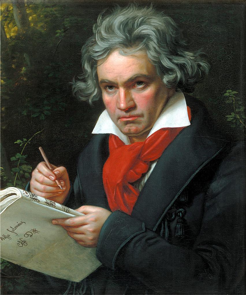 ルードヴィヒ・ヴァン・ベートーヴェン肖像画 Joseph Karl Stieler / Public domain