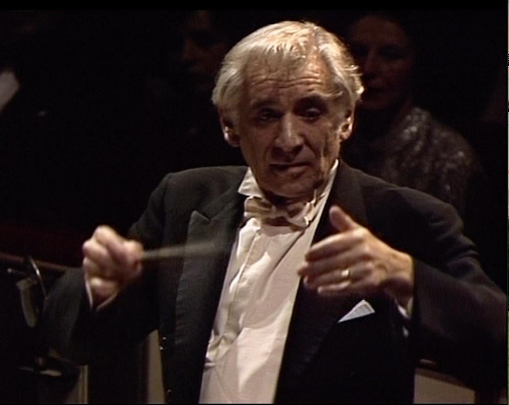 歌劇「フィデリオ」を指揮するレナード・バーンスタイン(1978年)