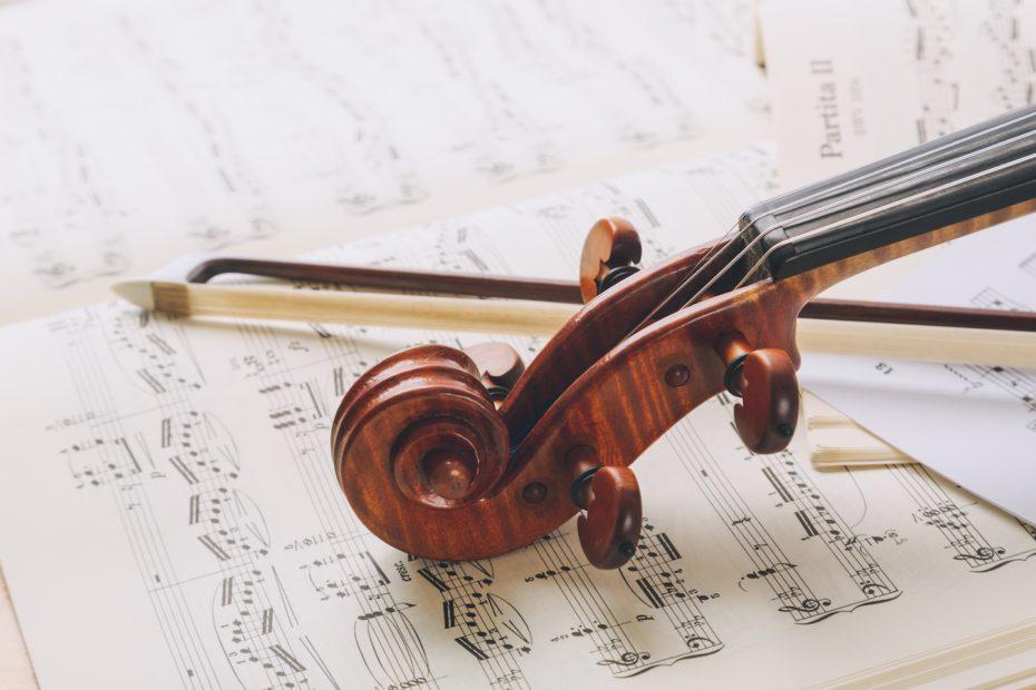 ヴァイオリンのイメージ図