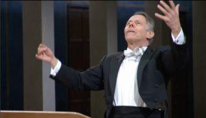 バイエルン放送交響楽団と「新世界より」を指揮するマリス・ヤンソンス(2014年)