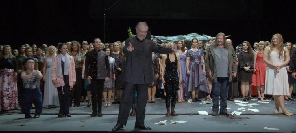 バイロイト音楽祭2019演奏後のヴァレリー・ゲルギエフ