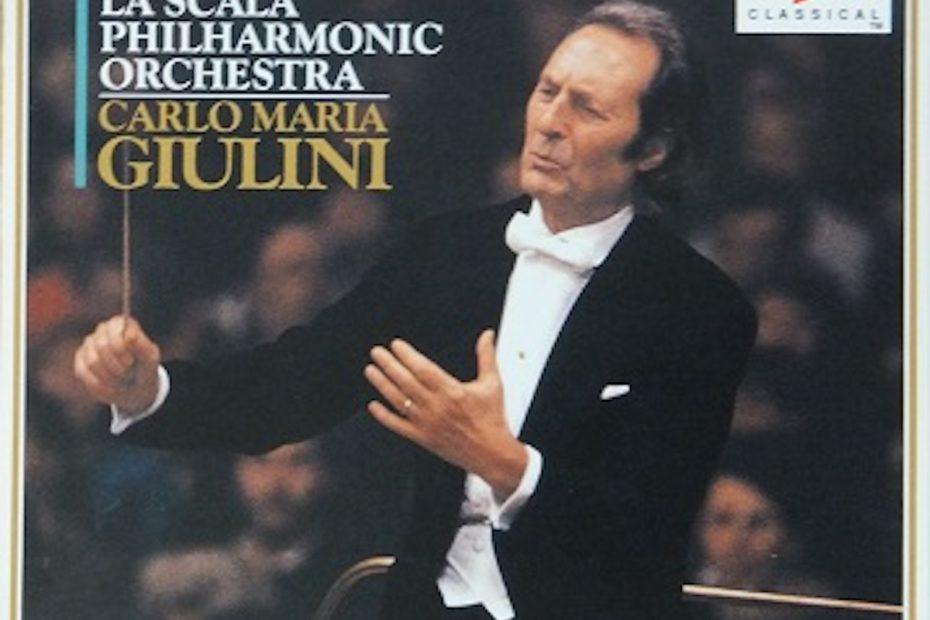 ベートーヴェン交響曲選集 カルロ・マリア・ジュリーニ/ミラノ・スカラ座フィルハーモニー管弦楽団(1991-1993年)