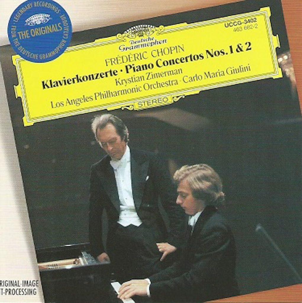 ショパンピアノ協奏曲全集 ツィメルマン/ジュリーニ/ロスフィル(1978-1979年)