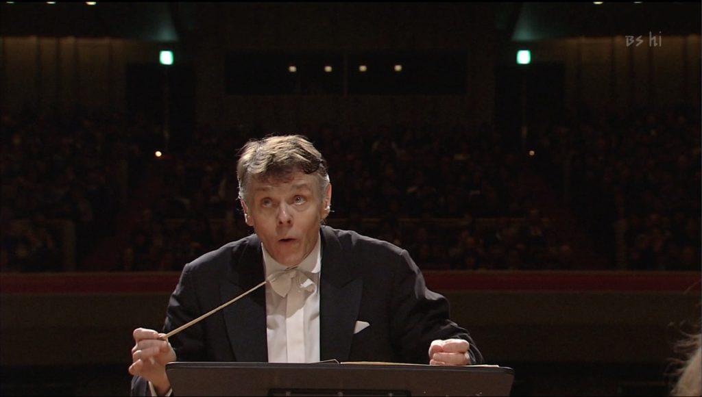 NHK音楽祭2008でティルを指揮するマリス・ヤンソンス