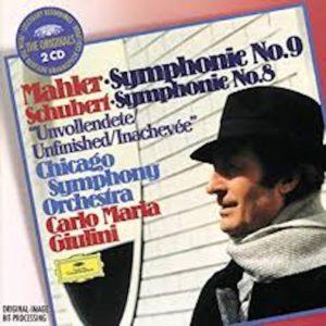 マーラー交響曲第9番 カルロ・マリア・ジュリーニ/シカゴ交響楽団(1976年)