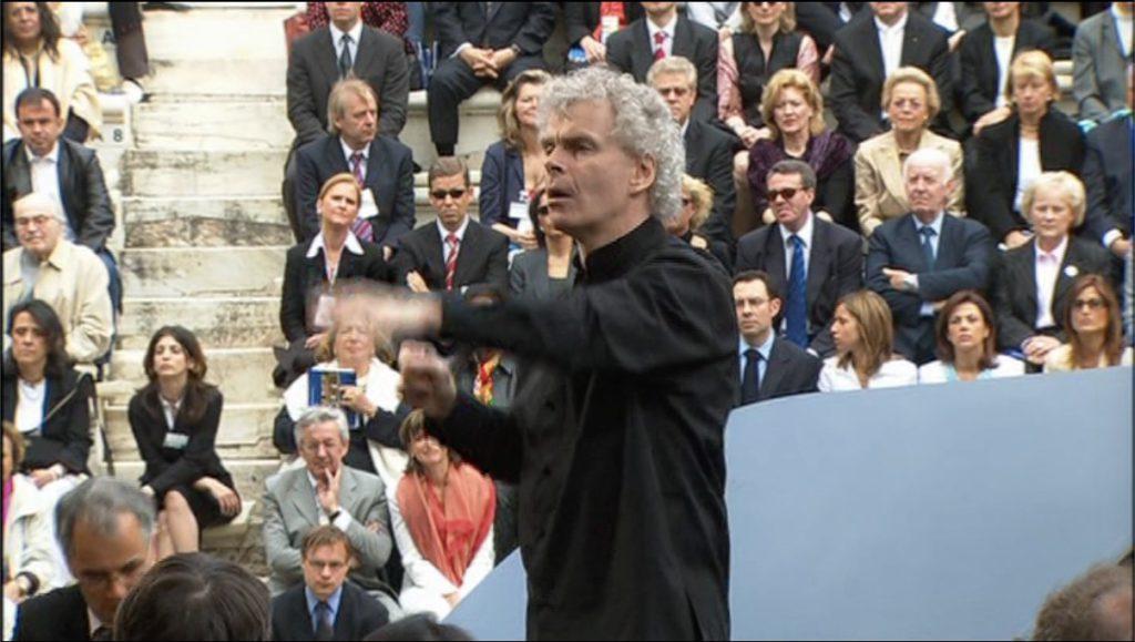 ベルリンフィルヨーロッパコンサート in アテネ