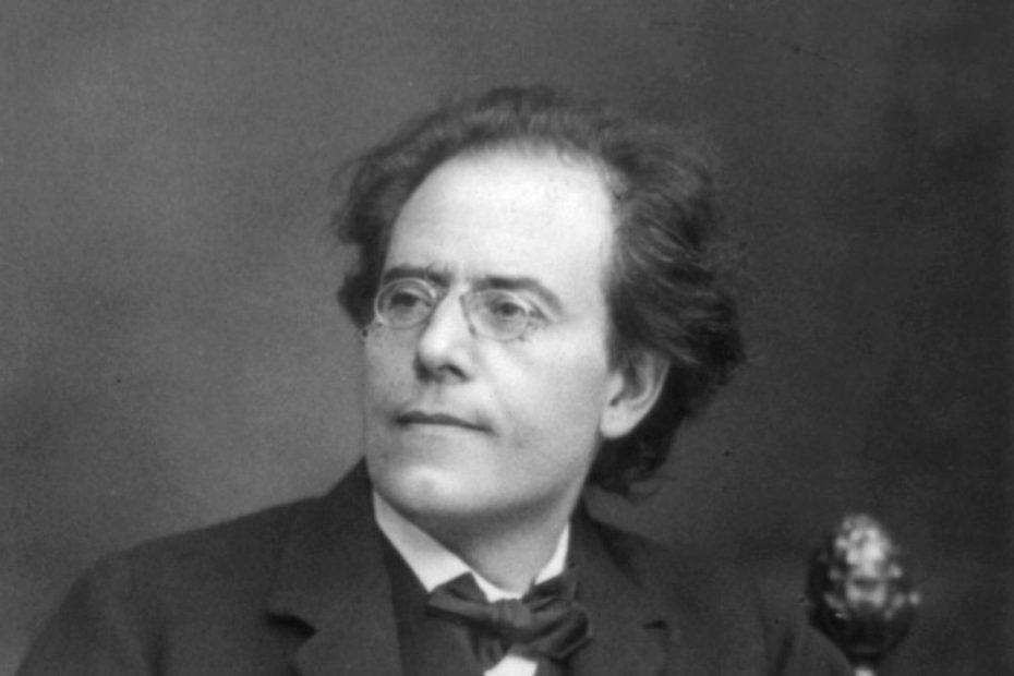 Gustav Mahler, 1860-1911; 3/4, seated, facing left. Copyright was registered in 1909-03-16 under H 124096–124098.