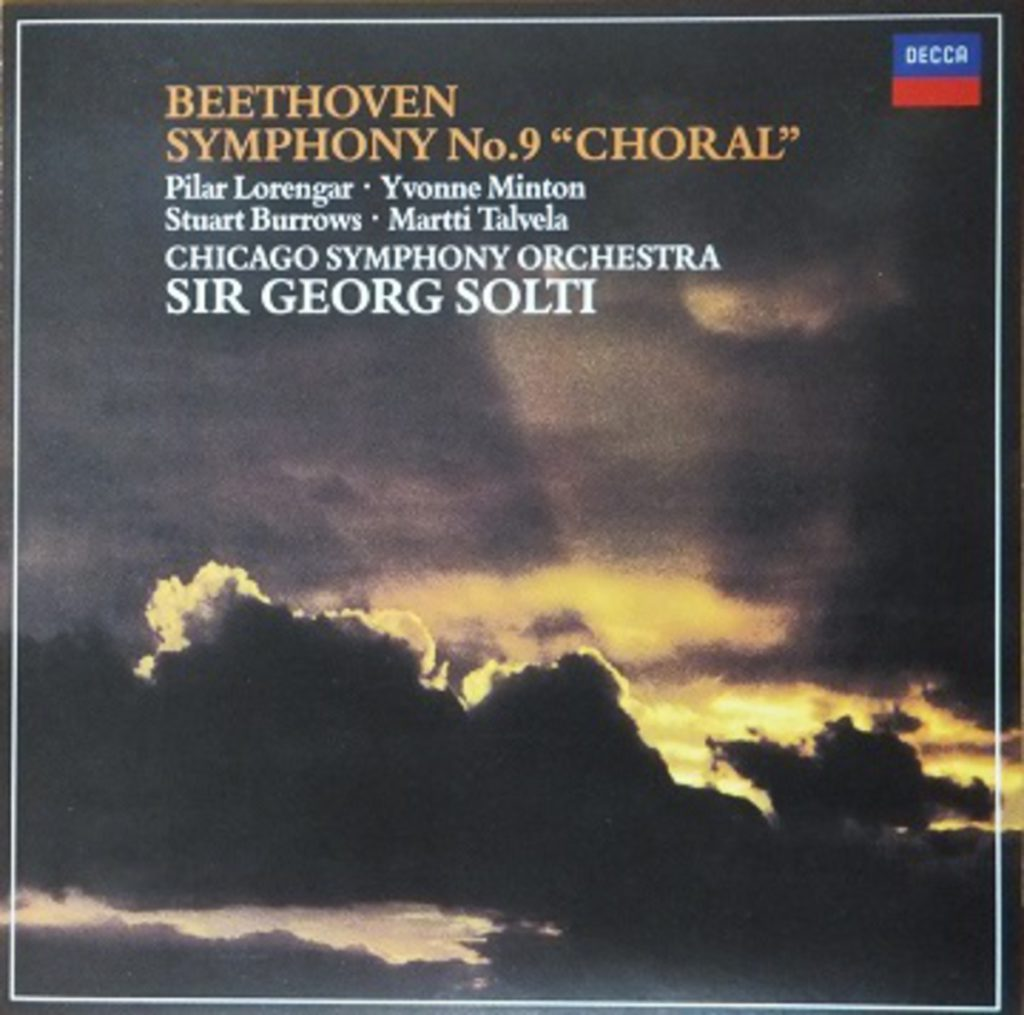 ショルティ/シカゴ響 ベートーヴェン交響曲第9番 1972年