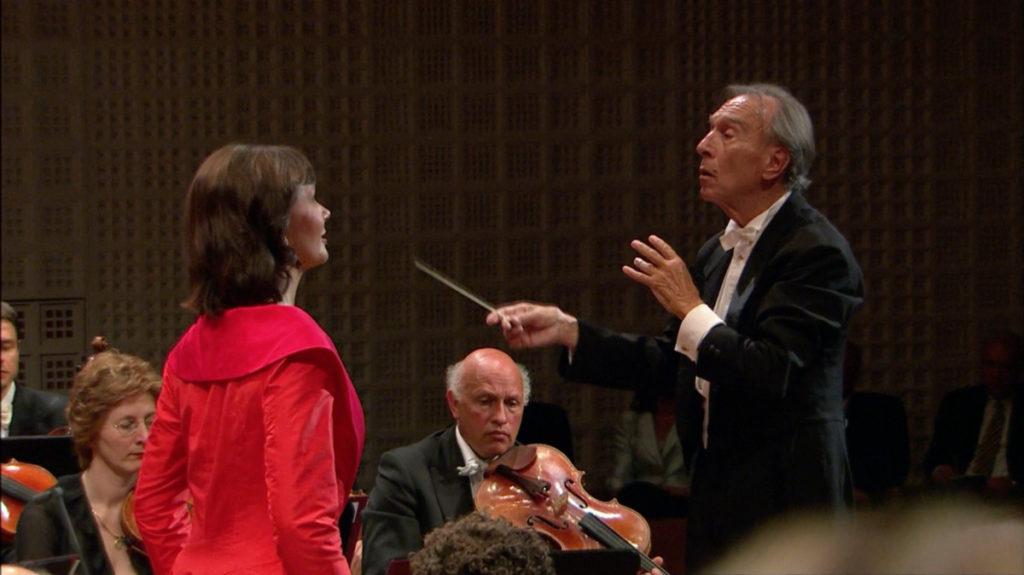 マーラー交響曲第3番を演奏するクラウディオ・アバドとルツェルン祝祭管弦楽団