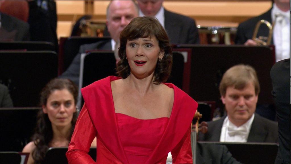 マーラー交響曲第3番の独唱 アンナ・ラーション