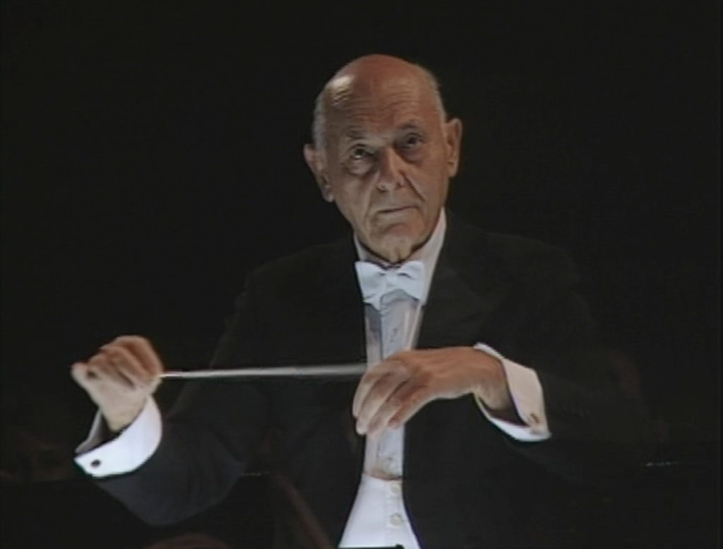 「椿姫」を指揮するサー・ゲオルグ・ショルティ