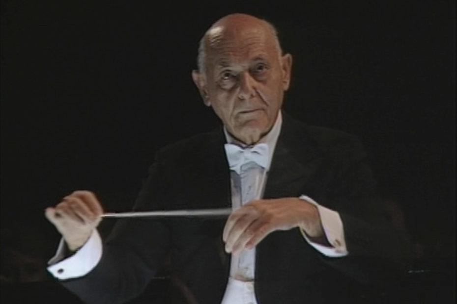 「椿姫」を指揮するサー・ゲオルグ・ショルティ(1994年)