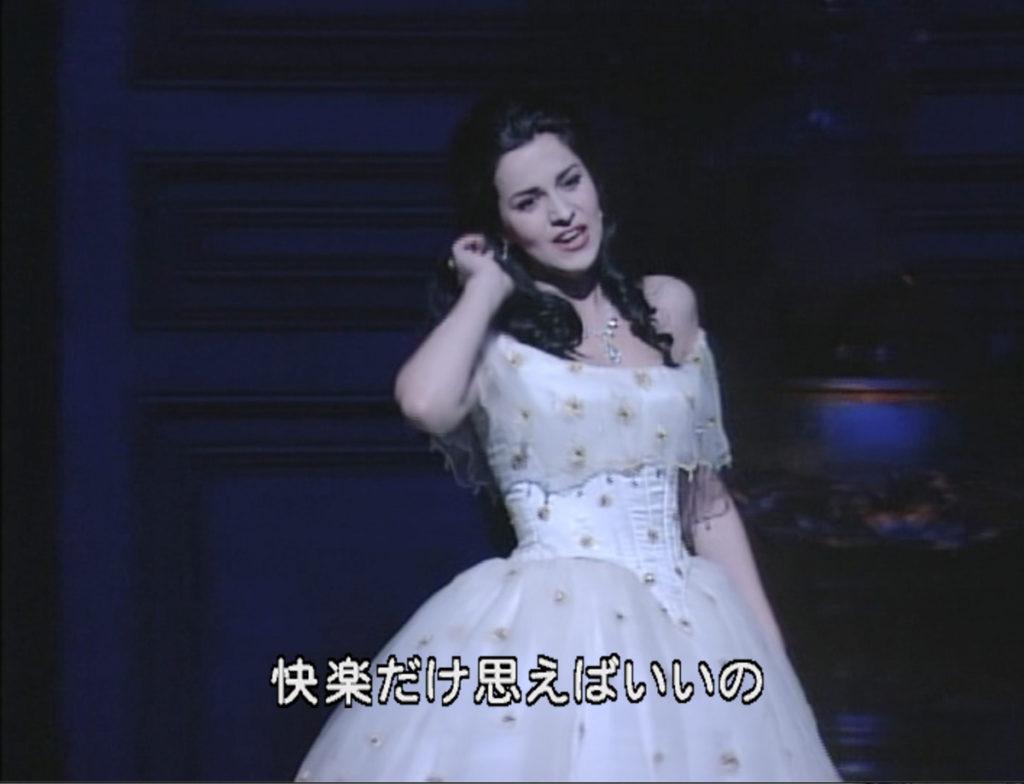 椿姫を歌うアンジェラ・ゲオルギュー