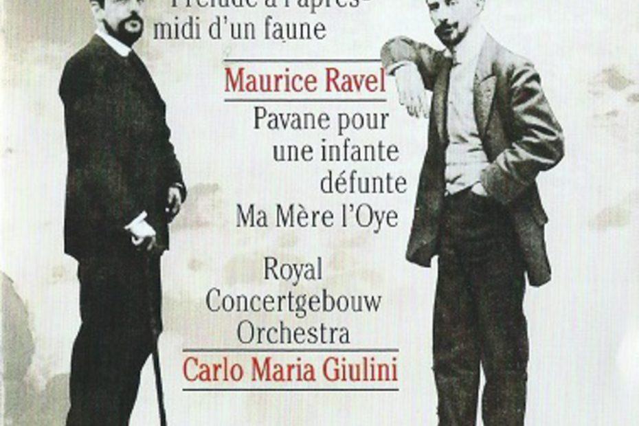 ドビュッシー交響詩「海」他 カルロ・マリア・ジュリーニ/コンセルトヘボウ管(1994年)