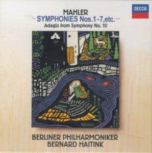 マーラー交響曲選集 ベルナルト・ハイティンク/ベルリン・フィルハーモニー管弦楽団(1987-1993年)