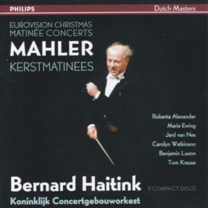 マーラー交響曲選集 ベルナルト・ハイティンク/ロイヤル・コンセルトヘボウ管弦楽団(1977-1987年)