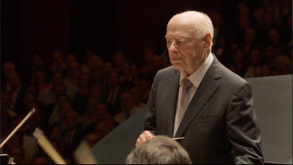 ベートーヴェンのピアノ協奏曲第4番を指揮するベルナルト・ハイティンク