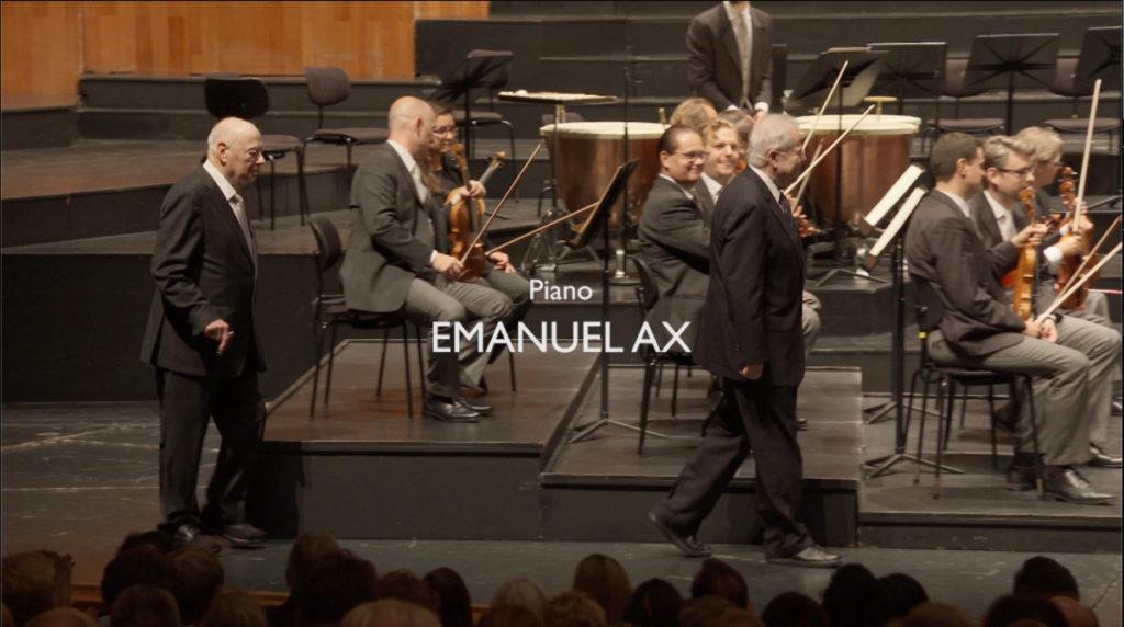 ザルツブルク音楽祭2019に登場するベルナルト・ハイティンクとエマニュエル・アックス