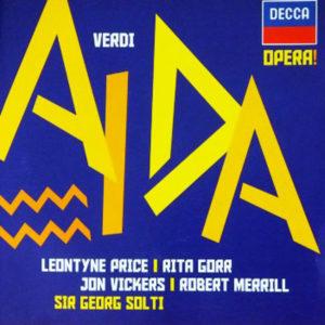 ヴェルディ歌劇「アイーダ」 ショルティ/ローマ歌劇場管弦楽団(1961年)