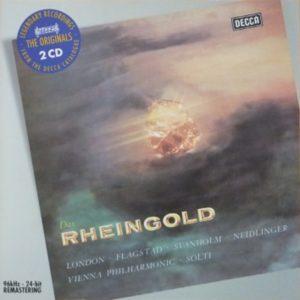 ヴァーグナー「ラインの黄金」 ショルティ/ウィーンフィル(1958年)