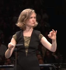 バーミンガム市交響楽団の音楽監督を務めているミルガ・グラジニーテ=ティーラ