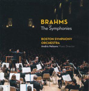ブラームス交響曲全集 アンドリス・ネルソンス/ボストン交響楽団(2016年)