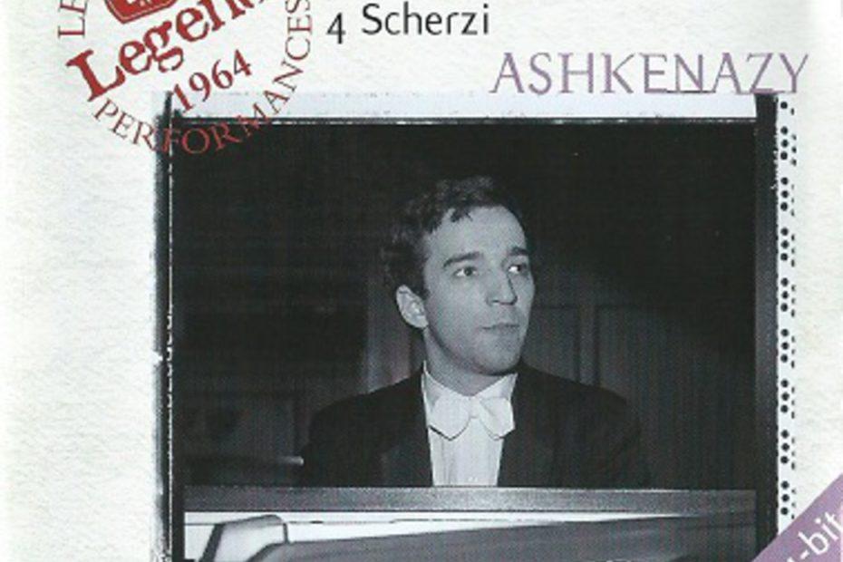 ショパン バラード&スケルツォ全集 ヴラディーミル・アシュケナージ(1964年, 1967年)