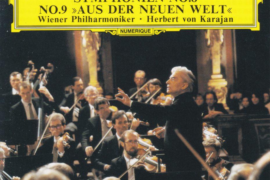 ドヴォルザーク交響曲第8番&第9番 ヘルベルト・フォン・カラヤン/ウィーン・フィルハーモニー管弦楽団(1985年)