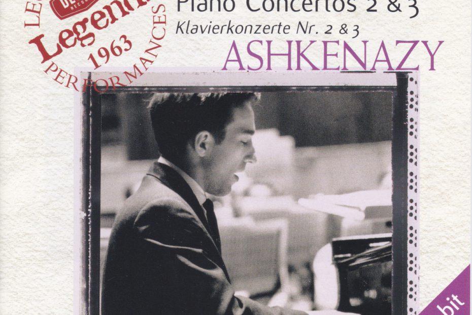 ラフマニノフ ピアノ協奏曲第2番&第3番 ヴラディーミル・アシュケナージ/キリル・コンドラシン/モスクワ・フィルハーモニー管弦楽団他(1963年)