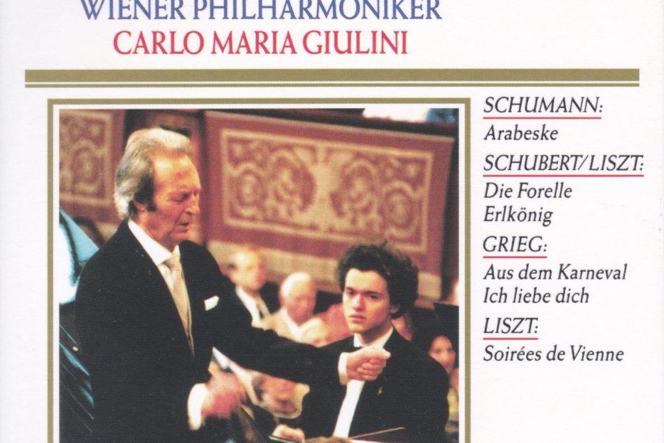 シューマン ピアノ協奏曲 エフゲニー・キーシン/カルロ・マリア・ジュリーニ/ウィーン・フィルハーモニー管弦楽団(1992年)