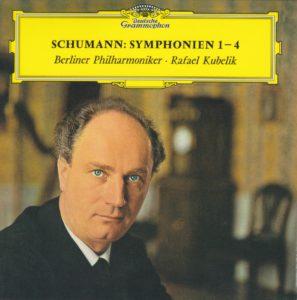 シューマン交響曲全集 ラファエル・クーベリック/ベルリン・フィルハーモニー管弦楽団(1963-1964年)