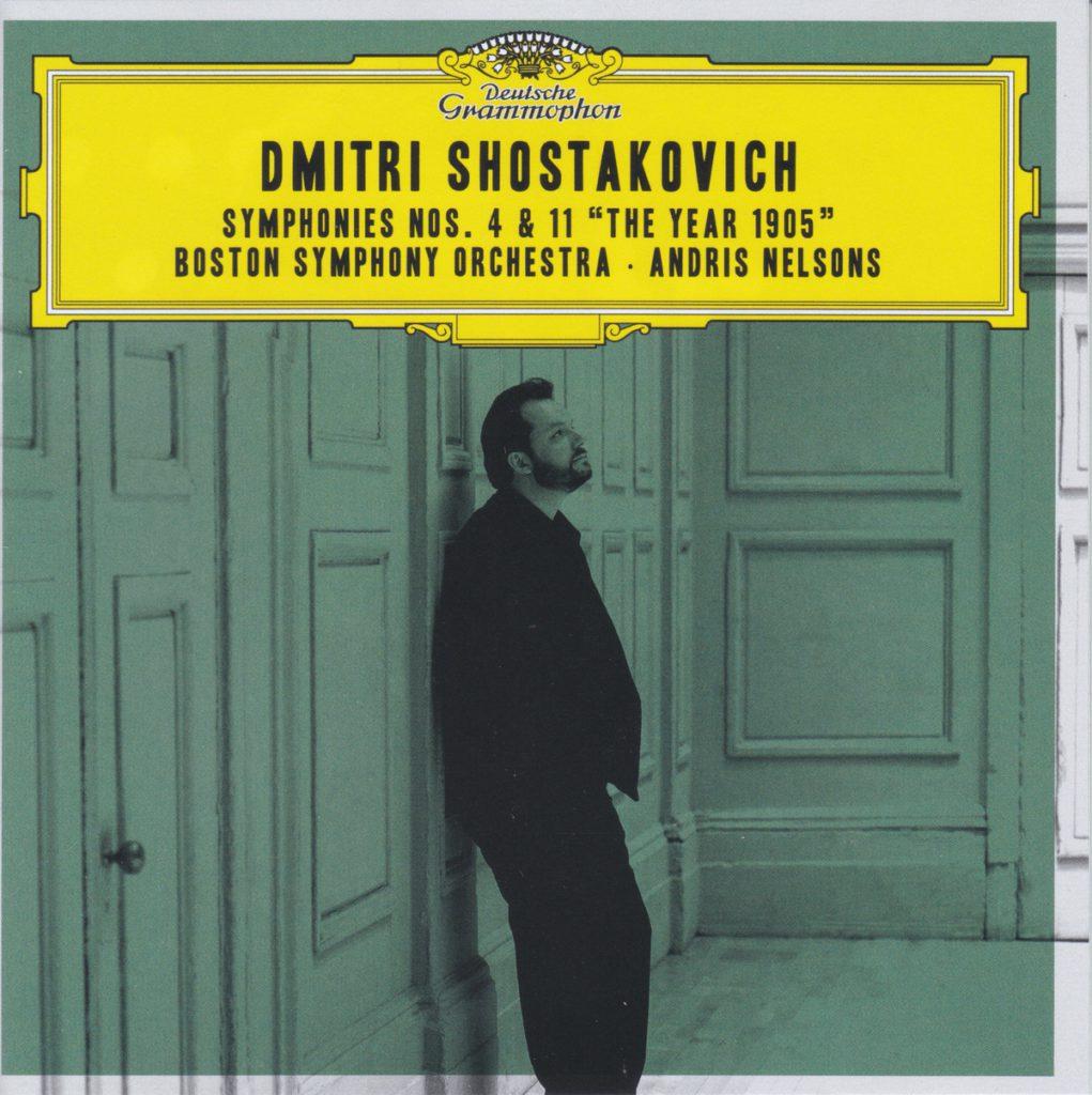 ショスタコーヴィチ交響曲第4番&第11番 アンドリス・ネルソンス/ボストン交響楽団(2017年, 2018年)