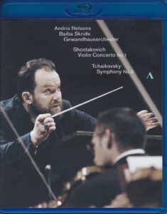 チャイコフスキー交響曲第5番他 アンドリス・ネルソンス/ライプツィヒ・ゲヴァントハウス管弦楽団(2019年5月)