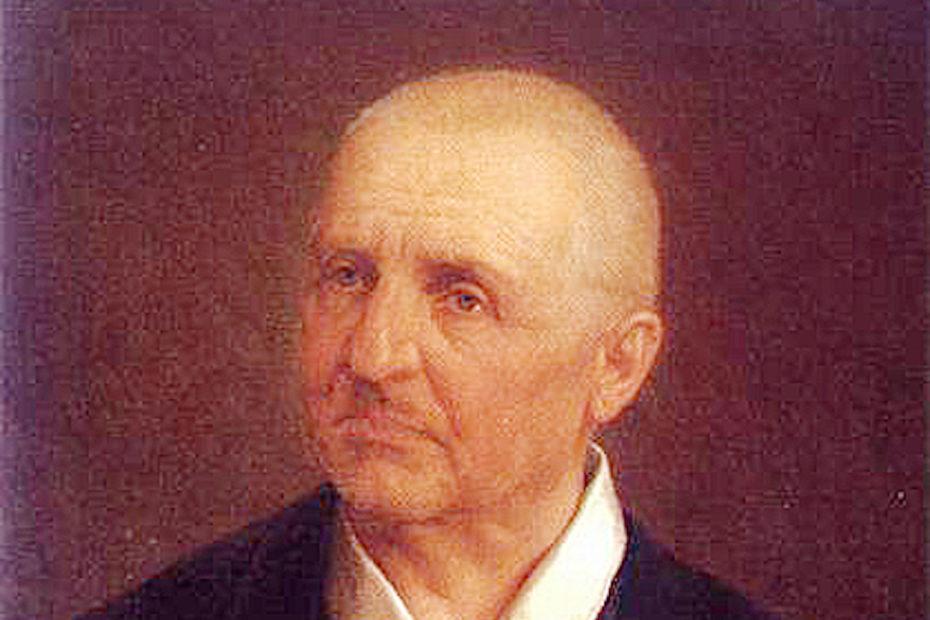 アントン・ブルックナーの肖像画