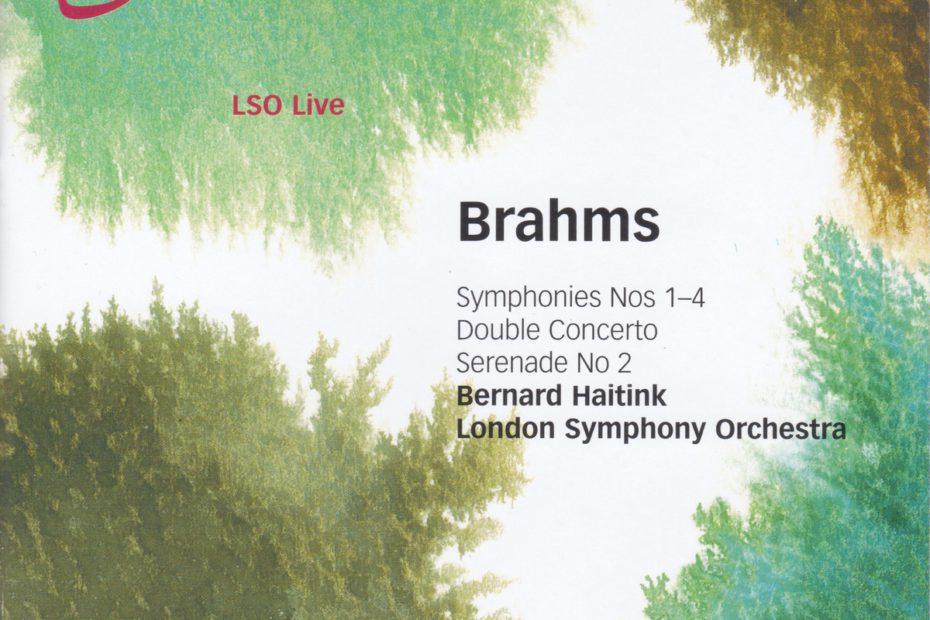 ブラームス交響曲全集 ベルナルト・ハイティンク/ロンドン交響楽団(2003-2004年)