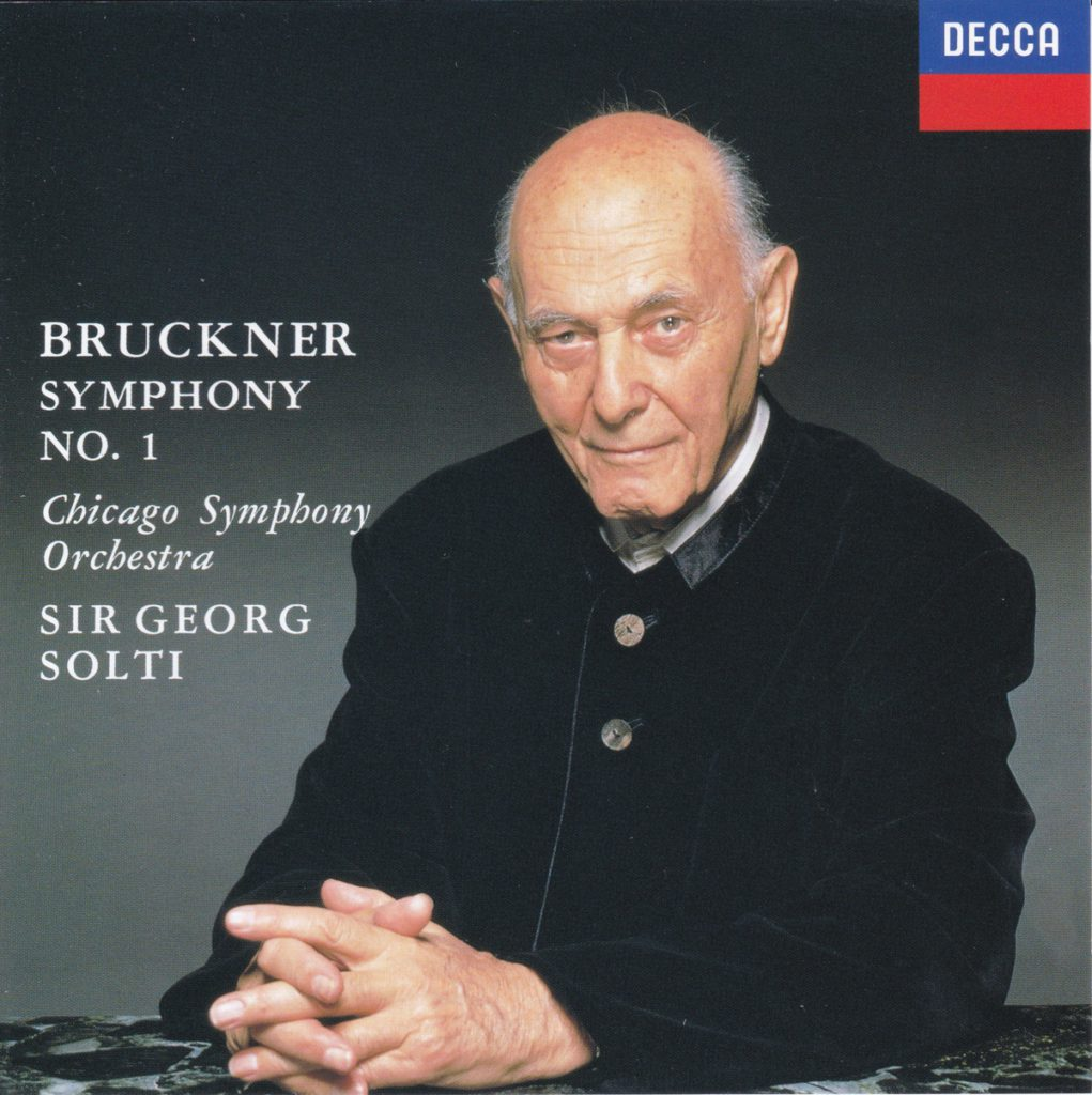 ブルックナー交響曲第1番 サー・ゲオルグ・ショルティ/シカゴ交響楽団(1995年)
