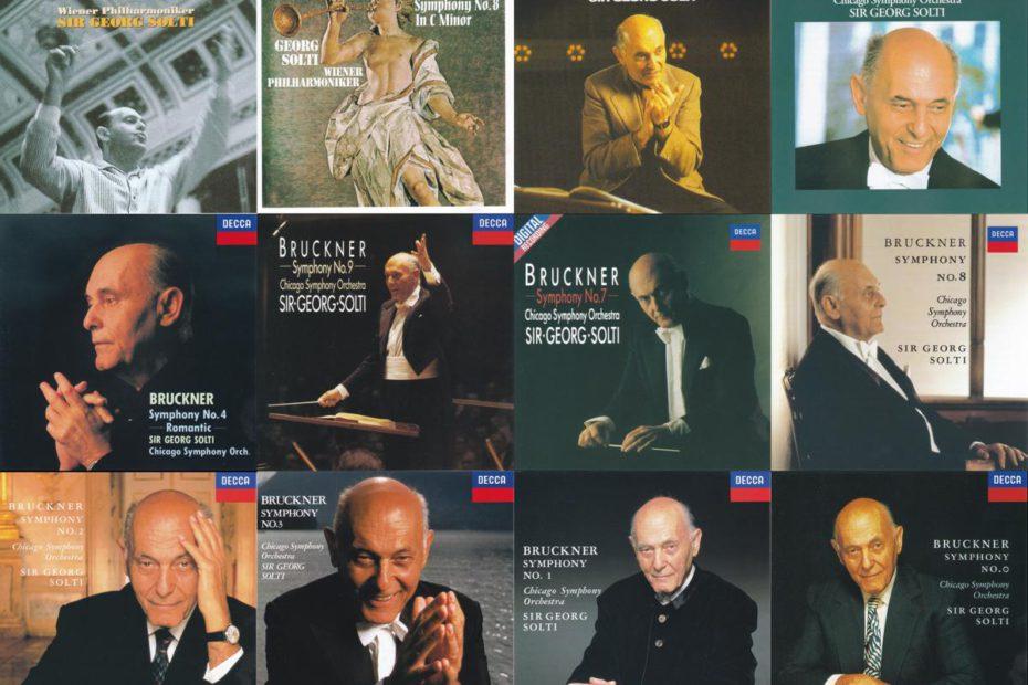 ゲオルグ・ショルティのブルックナーの交響曲録音