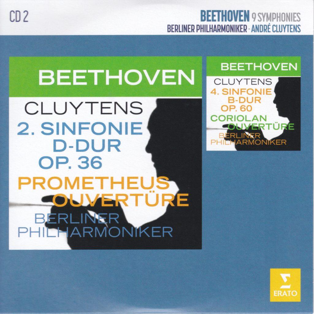 ベートーヴェン交響曲第2番&第4番 アンドレ・クリュイタンス/ベルリン・フィルハーモニー管弦楽団