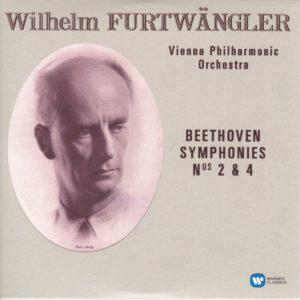 ベートーヴェン交響曲第2番、第4番 ヴィルヘルム・フルトヴェングラー/ウィーン・フィルハーモニー管弦楽団(1948年, 1952年)