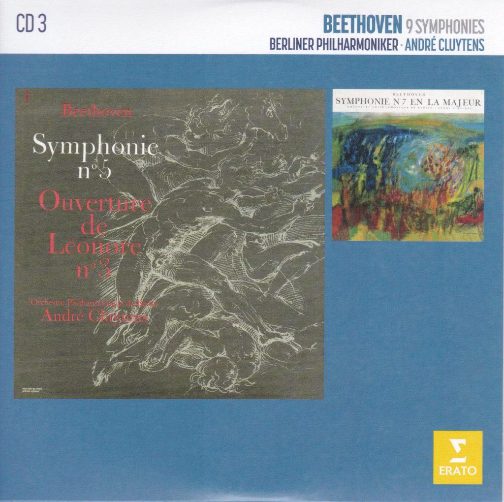 ベートーヴェン交響曲第5番「運命」&第7番 アンドレ・クリュイタンス/ベルリン・フィルハーモニー管弦楽団