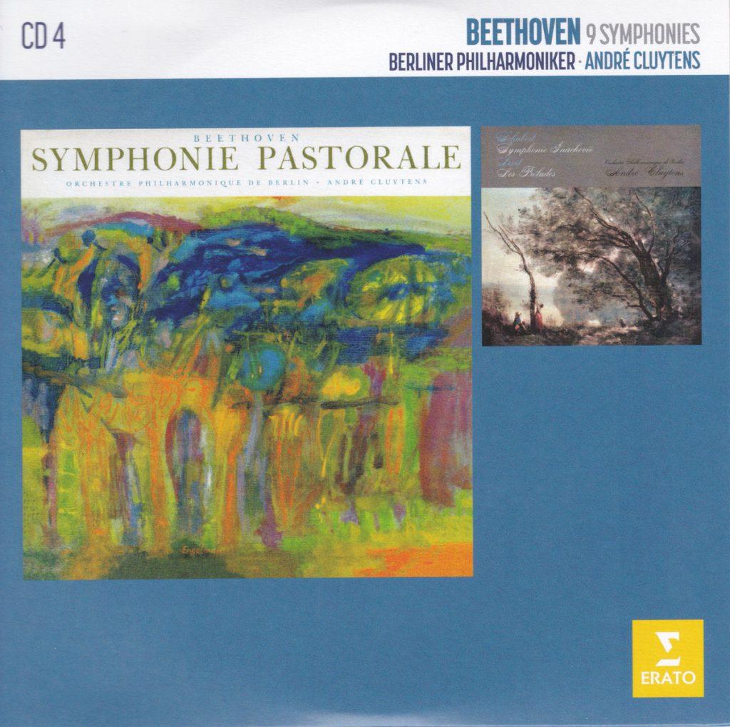 ベートーヴェン交響曲第6番「田園」&第8番 アンドレ・クリュイタンス/ベルリン・フィルハーモニー管弦楽団