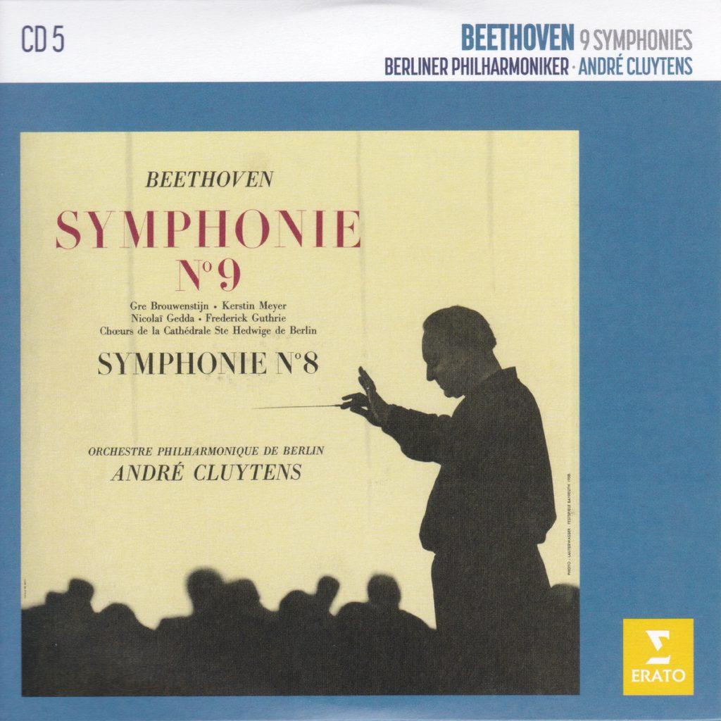 ベートーヴェン交響曲第9番「合唱付き」 アンドレ・クリュイタンス/ベルリン・フィルハーモニー管弦楽団