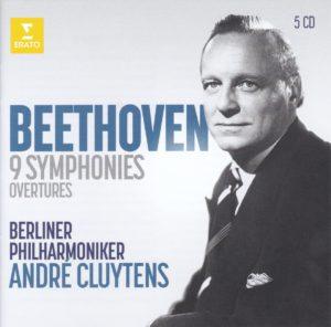 ベートーヴェン交響曲全集 アンドレ・クリュイタンス/ベルリン・フィルハーモニー管弦楽団(1957-1960年)