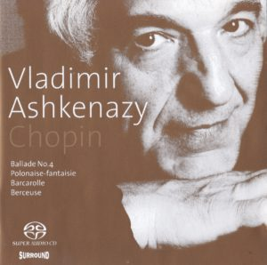 ショパン後期作品集 ヴラディーミル・アシュケナージ(1999年)