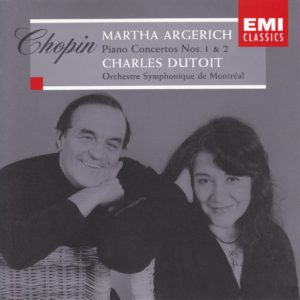 ショパン ピアノ協奏曲全集 マルタ・アルゲリッチ/シャルル・デュトワ/モントリオール管弦楽団(1998年)