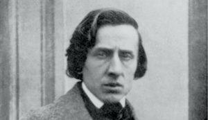 1849年に撮影されたフレデリック・ショパン
