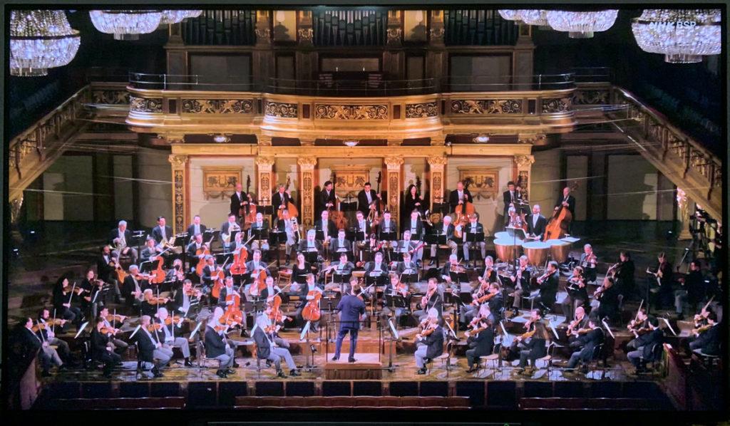 クリスティアン・ティーレマン/ウィーン・フィルハーモニー管弦楽団のブルックナー交響曲第3番「ヴァーグナー」の演奏会 (2020年11月28, 29日) (c) NHK BSプレミアム