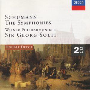 シューマン交響曲全集 ゲオルグ・ショルティ/ウィーン・フィルハーモニー管弦楽団(1967-1969年)