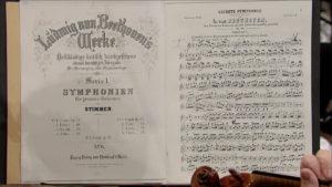 ブライトコプフ版の交響曲第6番「田園」を使うウィーンフィルの奏者 (c) C Major