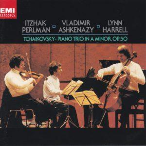 チャイコフスキー ピアノ三重奏曲 ヴラディーミル・アシュケナージ/イツァーク・パールマン/リン・ハレル(1980年)